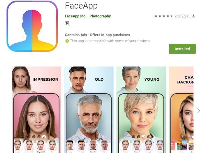 Aplikasi FaceApp yang Viral