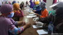 300 Orang Ikut Rapid Test di Pasar Tradisional Batang, 16 Reaktif