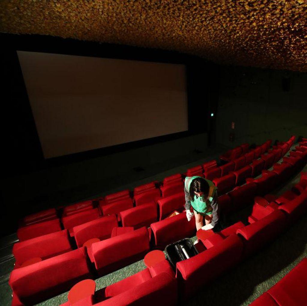 Bioskop Terapkan Jaga Jarak saat Kebijakan New Normal Berlaku