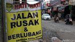 Waduh! Jalan Bintara Raya Rusak Banget