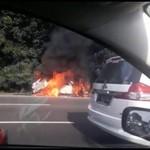 Dan Terjadi Lagi, Ini Cara Cegah Mobil Terbakar