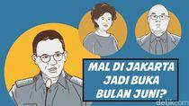 Mal di Jakarta Jadi Buka Bulan Juni?
