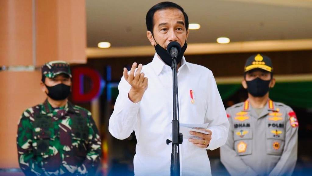 Poin-poin Instruksi Jokowi soal 1 Data dan Target Uji Corona 2 Kali Lipat