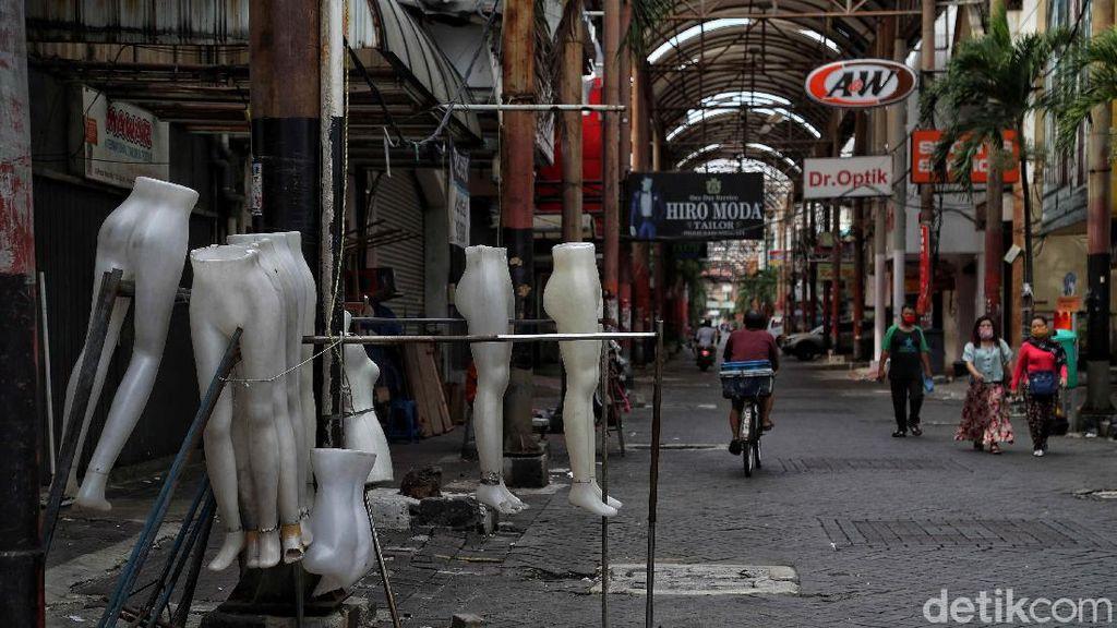 Pandemi Belum Berlalu, Pasar Baru Sepi
