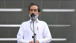 Jokowi Sebut Penularan Corona di Tiga Provinsi Ini Masih Cukup Tinggi