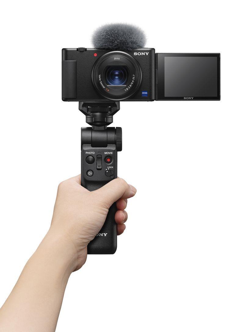Sony ZV-1, kamera berbasis RX100 VII yang dibuat khusus untuk para vlogger.