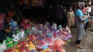 H+3 Lebaran, Pasar Gembrong Mulai Ramai Pembeli