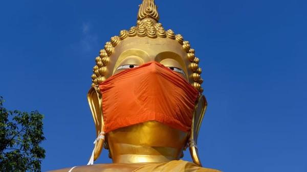 Thailand masih berhati-hati dalam membuka pariwisatanya. (AFP)