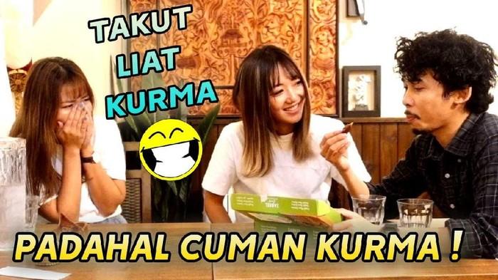 pertama kali makan kurma