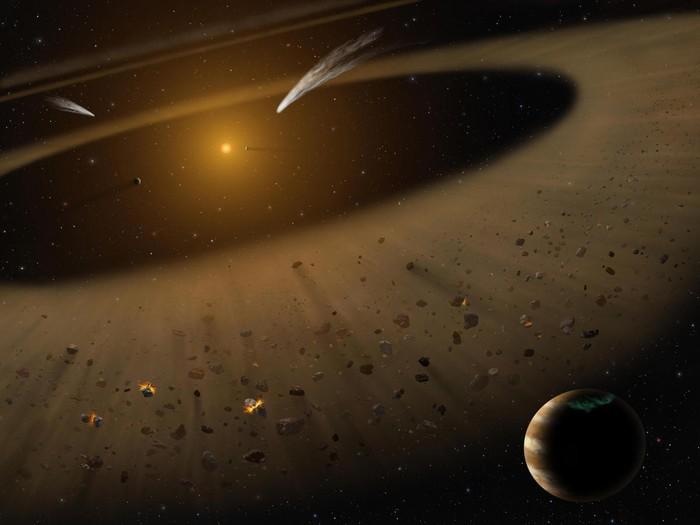 Epsilon Eridani Inner Asteroid Belt