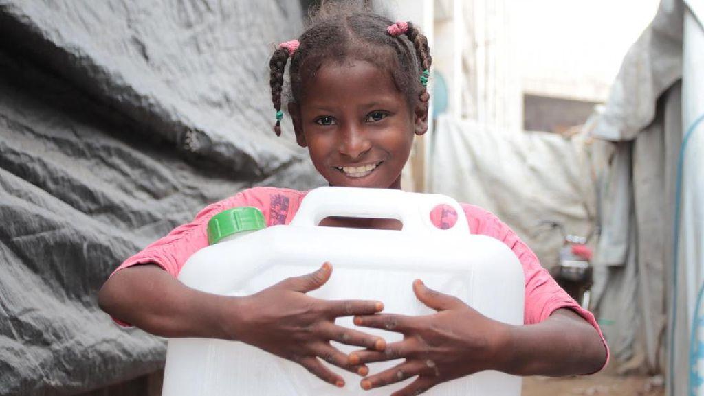 40% Populasi Dunia Tak Memiliki Akses Air dan Sabun