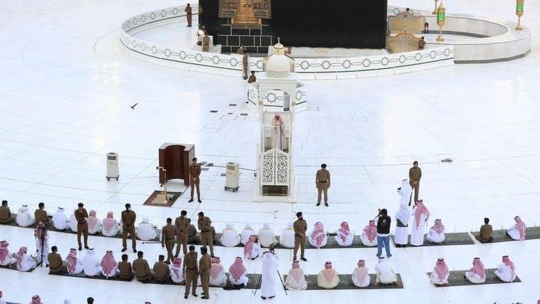 Haji: Arab Saudi longgarkan lockdown, namun ibadah haji kecil kemungkinannya tahun ini, di Saudi belum ada persiapan sama sekali