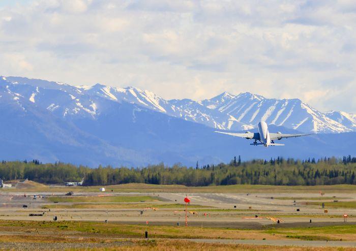 Bandara Anchorage Alaska