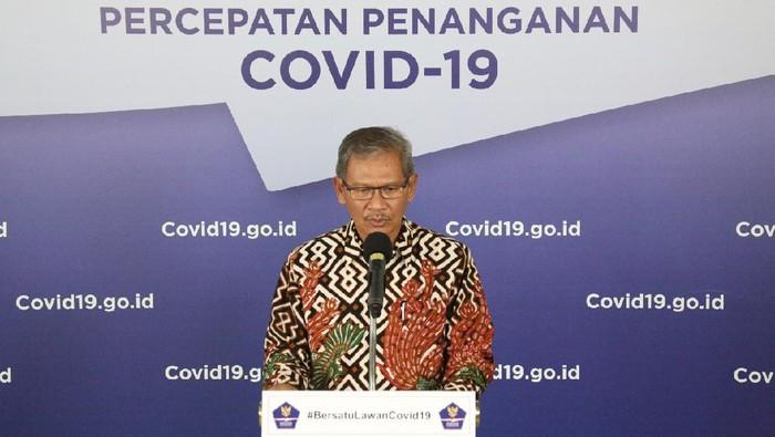 Juru Bicara Pemerintah terkait Penanganan Wabah Virus Corona, Achmad Yurianto (dok. BNPB)