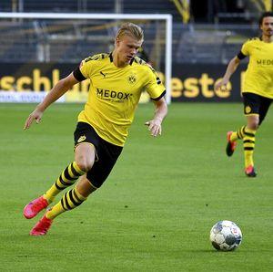 Dortmund Kalah, Haaland Cedera