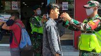 Sambut New Normal, TNI Jaga Mal dan RS di Sukabumi