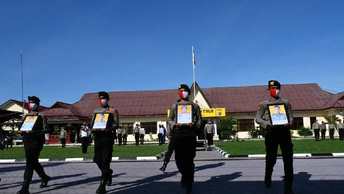 5 Anggota Polres Aceh Timur Terlibat Narkoba dan Desersi Dipecat