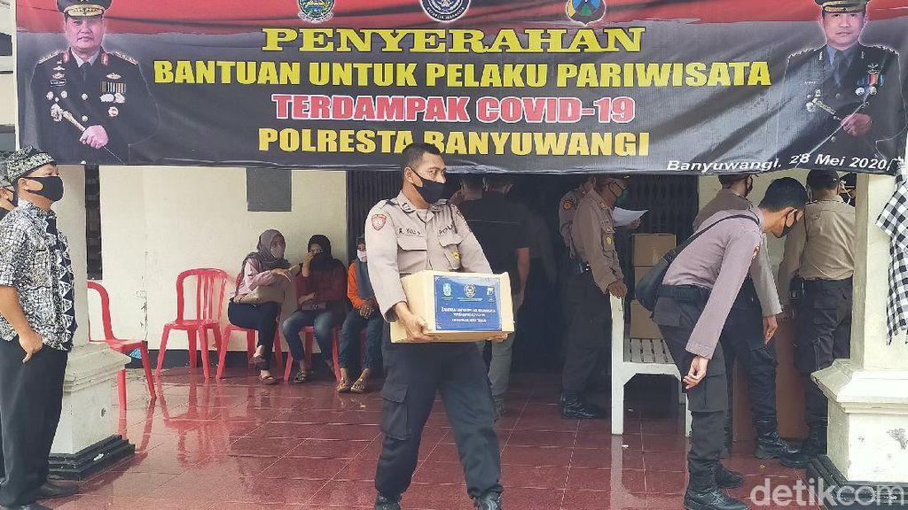 1.576 Pelaku Wisata di Banyuwangi yang Terdampak COVID-19 Terima Bantuan