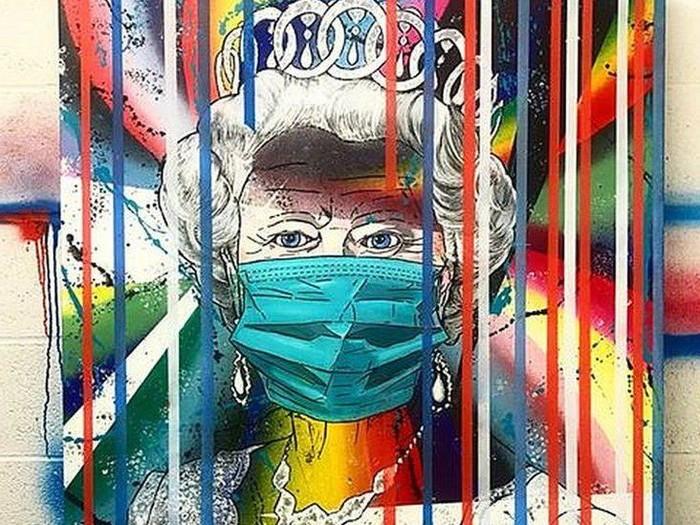 Lukisan Ratu Elizabeth II