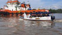 Polairud Polda Sumsel Evakuasi 9 ABK Pengangkut Kayu, 5 Positif Corona