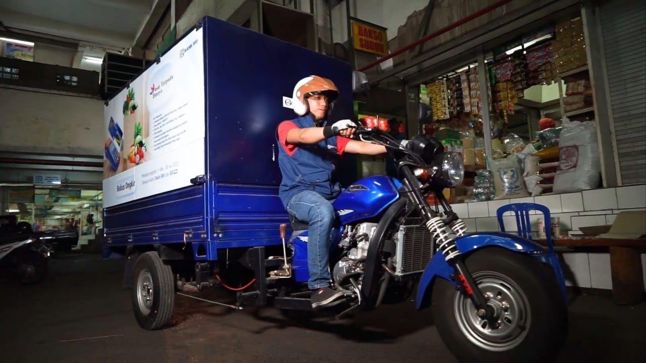 Pasar Dinoyo Menjadi Pasar Online  (Dok. BRI)