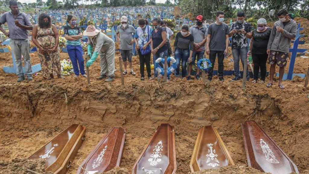 Corona Mengganas, Angka Kematian di Brasil Kini Lampaui Spanyol