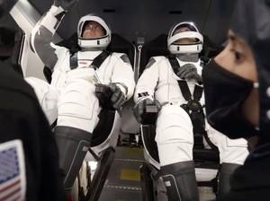 Dua Astronaut NASA dalam Roket SpaceX Harus Ikuti Aturan Makan Ini