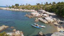 Butuh Vitamin Sea? Ini Potret Pantai Turun Aban di Bangka Belitung
