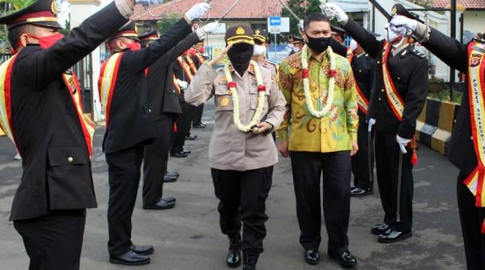 Polres Sukabumi Kota pertama kalinya dipimpin polwan