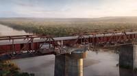 Foto: Hotel Keren dari Gerbong Kereta di Afrika