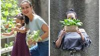 Atiqah Hasiholan dan Narji, Artis yang Hobi Berkebun Selama Pandemi COVID-19