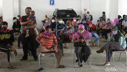 113 Warga Sidoarjo Mengikuti Tes Swab Massal di RSUD