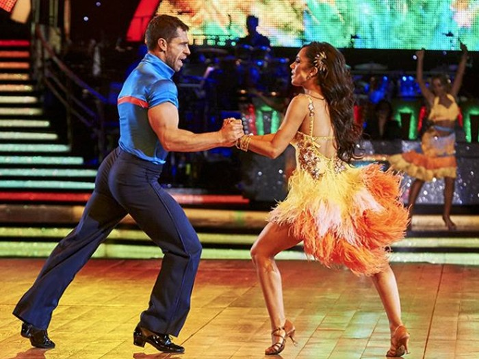 Acara Strictly Come Dancing.