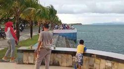 Tempat Wisata Tutup Gegara Corona, Warga Sultra Rekreasi di Bypass Raha
