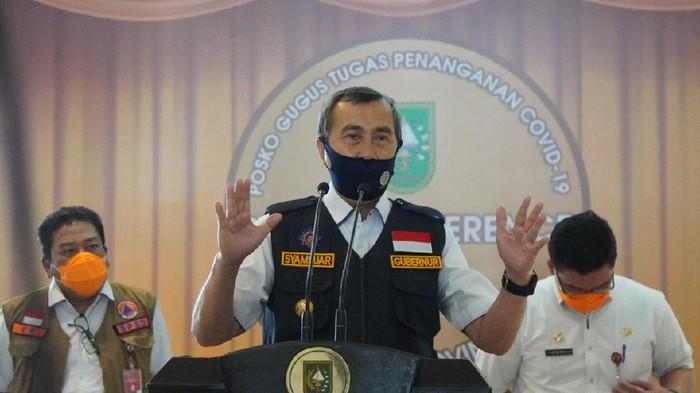 Gubernur Riau Syamsuar (Chaidir-detikcom)