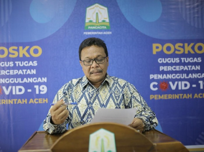 Juru Bicara Gugus Tugas COVID-19 Aceh, Saifullah Abdulgani.