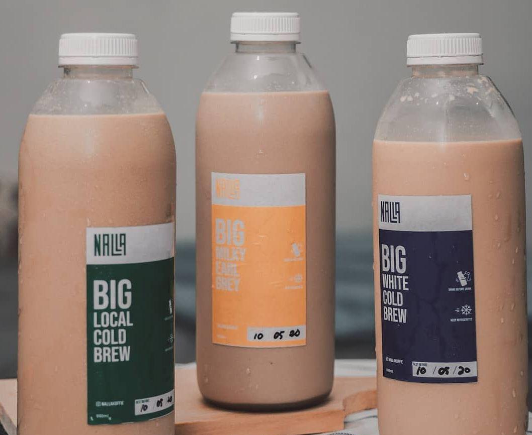 tempat beli kopi susu 1 liter