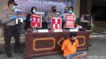 Mondar-mandir Keliling Kampung , Bandar Narkoba Terciduk di Tulungagung