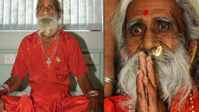 Petapa sakti di India yang tak makan dan minum selama 70 tahun meninggal dunia
