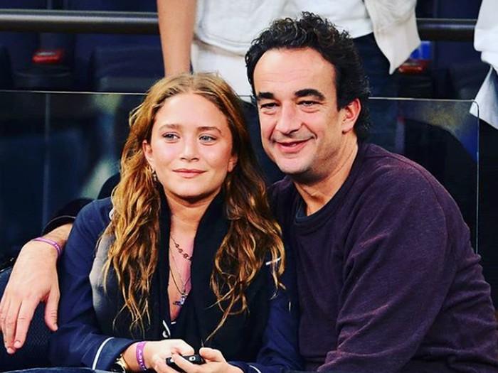 Mary-Kate Olsen dan Olivier Sarkozy.