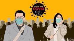7 Pedagang Positif Corona, Pasar Cileungsi Bogor Ditutup Sementara