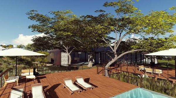 Nantinya di hotel ini akan dibangun kolam renang dan aneka fasilitas mewah lainnya.