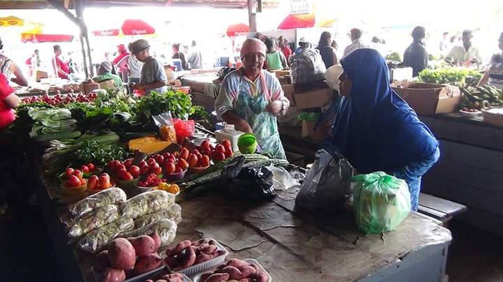 Jalan-jalan di Pasar Jawa Suriname Bisa Jajan Getuk hingga Pecel