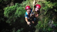 Saat ini Gua Jomblang merupakan tempat konservasi tumbuhan purba dan dikembangkan menjadi tempat wisata minat khusus yang mana dikelola oleh penduduk atau warga setempat. Istimewa/@wir.weit.weg/jejakpiknik.com