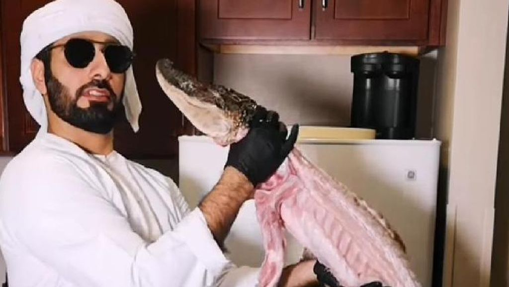 Chef Arab Masak Buaya Utuh hingga Curhat Ojol Antre Lama di Restoran