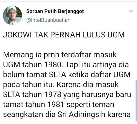 Pria Cianjur Hina Presiden Jokowi