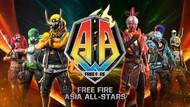 Booyah! Nonton Turnamen Free Fire Asia All-Stars Bisa dari Rumah