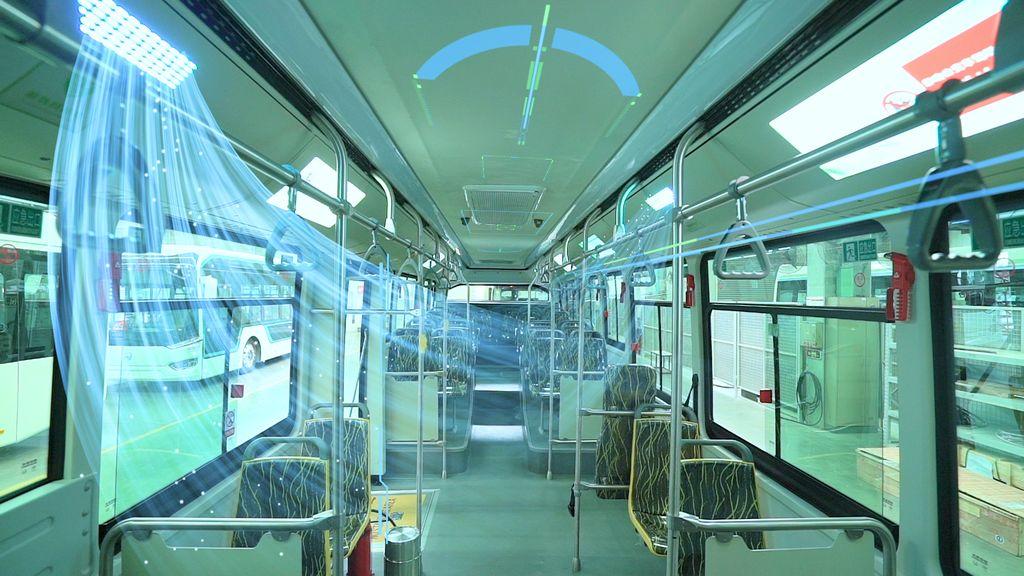 Bus Kota Anti-corona di China. Bus disterilkan dalam 20 menit.
