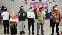 Ke Menko PMK & Mensos, Ridwan Kamil Laporkan Distribusi Bansos 80%