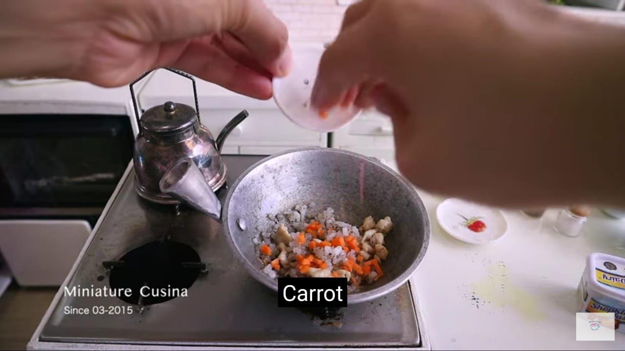 Masakan miniatur oleh Miniature Cusina